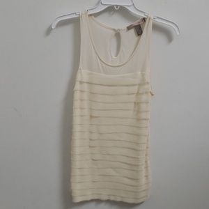 ❤FOREVER 21 ivory tank top, size extra small
